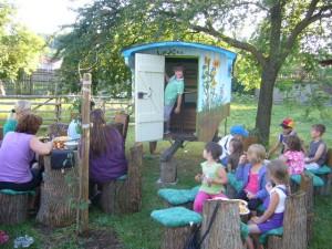 Schaeferwagen Kindergruppe 2010
