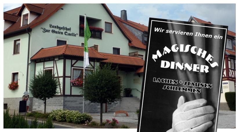 Magisches Dinner 2016